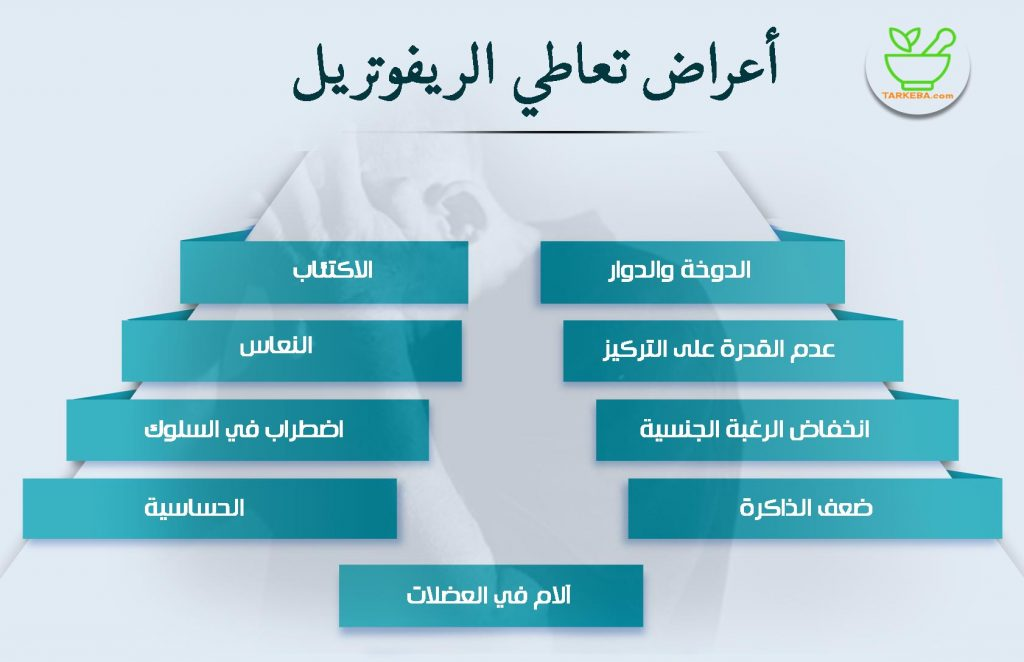 أضرار وأعراض تعاطي الريفوتريل