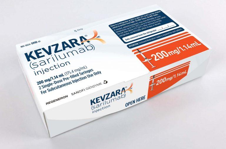 "Read more about the article دواء كيفزارا ""Kevzara"" ودوره في علاج كوفيد-19 وتفاصيل الدراسة الحالية"